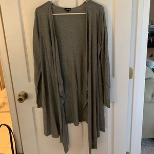 Gray long sweater from torrid